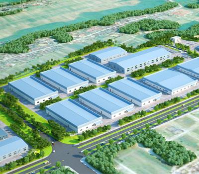 Thiết kế và thi công cảnh quan sân vườn nhà máy xí nghiệp nhà kho nhà xưởng khu công nghiệp