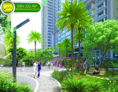 Thiết kế cảnh quan công viên xanh
