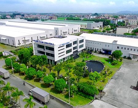 Thiết kế trồng cây cảnh quan nhà máy và khu công nghiệp